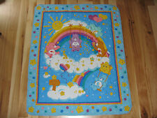 CAREBEAR CARE BEAR BABY BLANKET QUILT COMFORTER PLAY MAT BEDTIME LOVE A LOT WISH