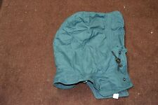 Used Canadian army hood for blue winter parka size 6740 ( store #h1 bte#151 )