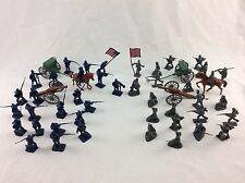 "50 Piece 2"" Civil War Army Guys Men Military Soldier Toy Playset & Accessories"