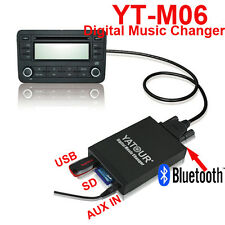 Bluetooth USB SD toyota AUX adaptador mp3 cambiador CD toyota corolla/verso 2005