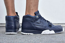 NIKE AIR TRAINER 1 mediados SP / fragmento X Ltd Edition - Reino Unido tamaño 9 (EUR 44) - azul