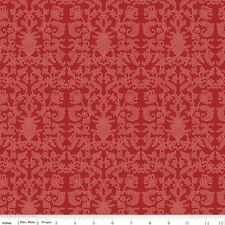 Into the garden Damask Red Riley Blake Fabric FQ 50cmX54cm + More 100% Cotton
