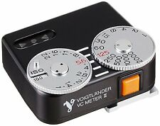New! COSINA Voigtlander VC Meter II Black Light Meter 640047 from Japan Import!