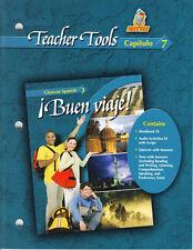 GLENCOE SPANISH 3 BUEN VIAJE!:  TEACHER TOOLS CAPITULO 7 - NEW!