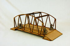 WW2 EUROPE BOX GIRDER BRIDGE  28mm Laser cut MDF kit N039