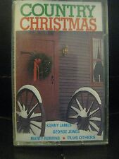 COUNTRY CHRISTMAS (SONNY JAMES/GEORGE JONES/MARTY ROBBINS), CASSETTE TAPE,1981