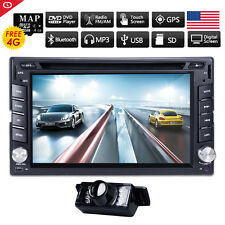 Rear Camera+ GPS Navi Car Stereo DVD Player 6.2'' Touchscreen Audio HD Radio PC