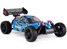 RC Trucks Gas Powered Cars Shockwave Nitro Buggy 4x4 Redcat RTR 4WD Blue