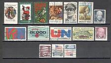 B9854 - STATI UNITI 1970 - LOTTO USATI DEL PERIODO DIFFERENTI - VEDI FOTO