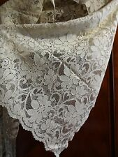 BEAUTIFUL VINTAGE ( I THINK LAURA ASHLEY)  LACE LONG SCARF / WRAP WORN ONCE