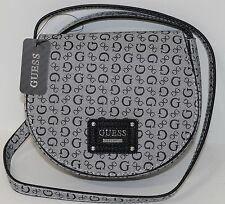 NEW Guess Highway Mini Crossbody Shoulder Bag Purse Black NWT