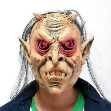 Scary Hair Evil Ghost Mask Horror Latex Halloween Party Dress Costume Prop NEW!!