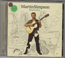MARTIN SIMPSON - kind letters CD