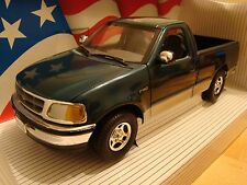1/18 Ford F150 Xlt 1997 Pick Up Solo cabina American Muscle 4WD rara Goodwood