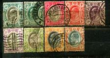 Transvaal Edward VII 9 Old Stamps