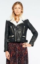 Iro noemie leather biker jacket fr 36 uk 8
