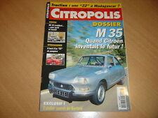 Citropolis N°2 Citroën M35.Citroën 55 pompiers