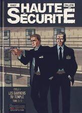 BD EO Haute Sécurité T2 Les gardiens du temple - Edition Originale