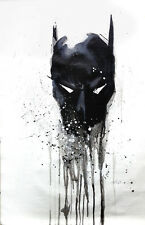 Batman 28x16 oil painting NOT print Joker Dark Knight Bane Framing available