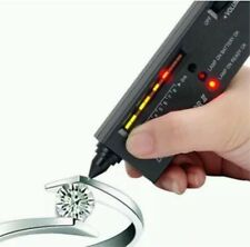 PRO LCD Jewellery Tester Audio LED Diamond Authentication Gemstone Selector NEW