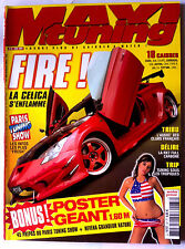 MAXI TUNING n°87 du 4/2004; Paris Tuning Show/ / Civic, 406 coupé, Corrado, 306