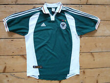 GERMANY FOOTBALL shirt large 2000 GERMAN SOCCER JERSEY EURO 16 maglia trikot