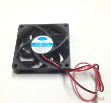 BP7015M12 FAN 12V DC 2P 70mm 70mm 15mm 10 wire 2P terminal connector