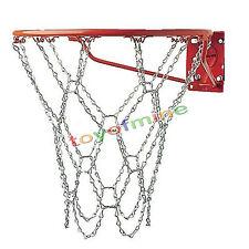Heavy Duty Official Metal Basketball Net Chain Hoop Sports Link Nets Rim Steel