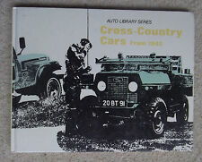 Cross Country Cars from 1945 by Haynes Publishing Group (Hardback, 1975)