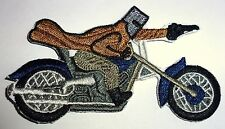 NED KELLY - HIGHWAY MAN SEW OR IRON ON BIKER MOTORCYCLE PATCH 90mm x 50mm