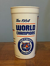 vtg 1984 Detroit Tigers Collectible 1984 World Champions World Series Cup