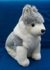 """Ty Classic Plush Animal Husky Dog Timber with Tags Style 2002 (17"""")"""