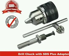 "13mm Drill Chuck Size 1-13mm Drill Chuck SDS Adaptor Key Set Female 1/2"" 20 UNF"