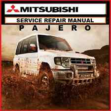 MITSUBISHI PAJERO-MONTERO NA NG NH NJ NL NM NP Series WORKSHOP MANUAL 1983-2006