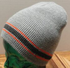 WIGWAM YOUTH WOOL/ACRYLIC WINTER HAT GRAY EXCELLENT CONDITION