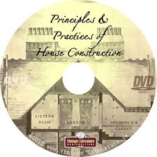 Principles and Practices of Victorian House Design & Construction {1899} on DVD