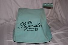 VINTAGE PAYMASTER SERIES S-1000 CHECK WRITER WITH  DUST COVER
