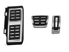 VW Tiguan AD1 2016 Pedal caps Stainless steel DSG Automatic Foot rests set