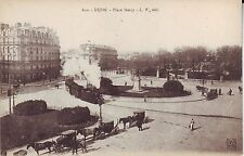 France Dijon - Place Darcy Train Tramway old unused postcard