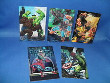 MARVEL MASTERPIECES - SPECTRA INSERT SET (5) NON SPORT CARDS - 1992 SKY BOX