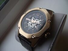 MENS ROTARY FUSION AUTOMATIC ROSE GOLD WATCH