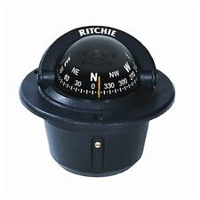 Ritchie Explorer Compass F-50 Flush Mount Traditional Black MD