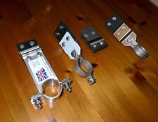 """Land Rover Series 2 & 3 109""""  LWB LHD 4 cyl Exhaust Mounting Stainless Full Kit"""