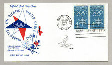 ** USA, VIII OLYMPIC INTER GAMES, CALIFORNIA 1960 - FIRST DAY OF ISSUE