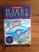 J K Rowling's Harry Potter and the Chamber of Secrets 1st Edition, 2nd Print