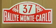 Monte Carlo Rallye Paddy Hopkirk Metal Plaque Garage Wall Decor