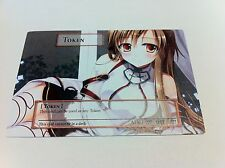 Yugioh Common Orica Sexy Anime Girls Token Sword Art Online Asuna