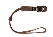hand Wrist Strap Brown Leather cord for Canon Nikon Sony  camera DSLR HS02