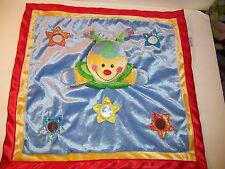 SECURITY BLANKET - BABY GUND  BLINKY ACTIVITY TOY LAUGHS MIRROR RATTLE  SQUEAKS