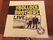 The Bollock Brothers - Live! Lp NM/ NM RARO!!! Charly '83 Cult!!!!
